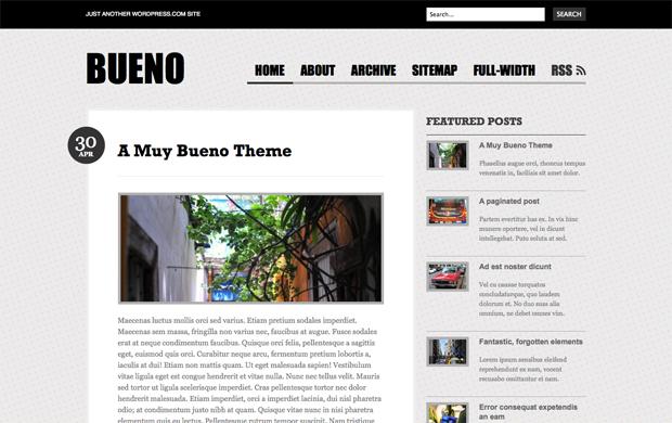 Nuevo Tema: Bueno — El blog de WordPress.com