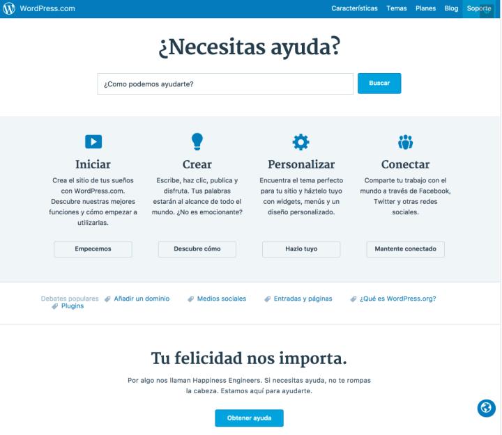 Necesitas Ayuda? Lanzamos el sitio de soporte en Español ...