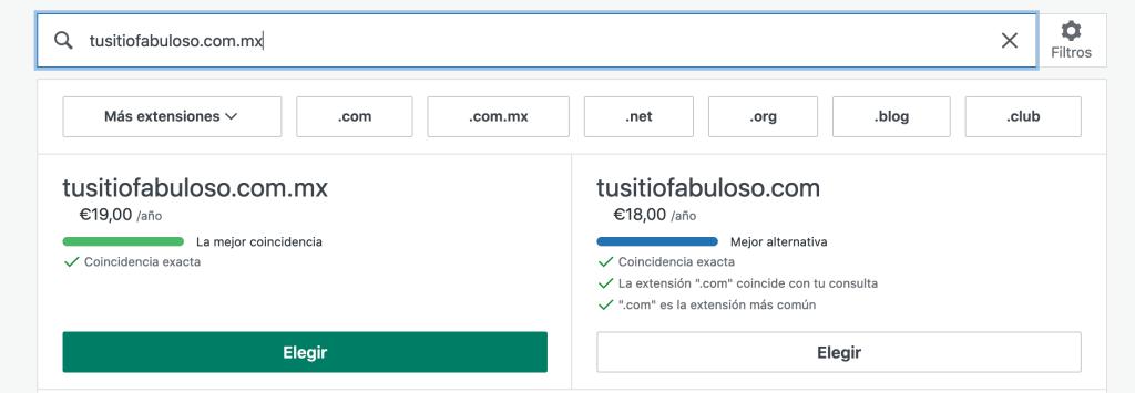 Cómo añadir un dominio personalizado.